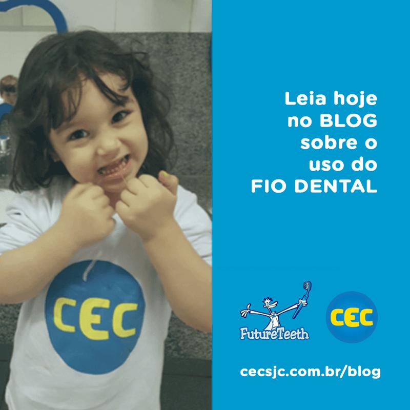 A importância do uso do Fio Dental